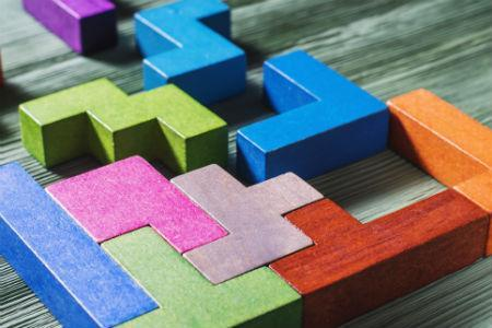 building with blocks