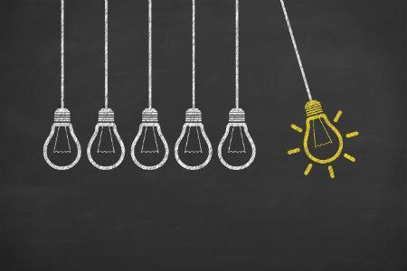 Innovation light bulbs 450