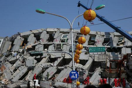 Taiwan 6 Feb earthquake