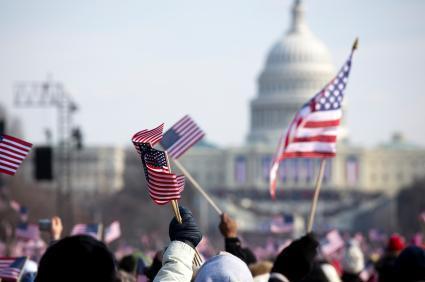 The inauguration of President Barack Obama in Washington, DC
