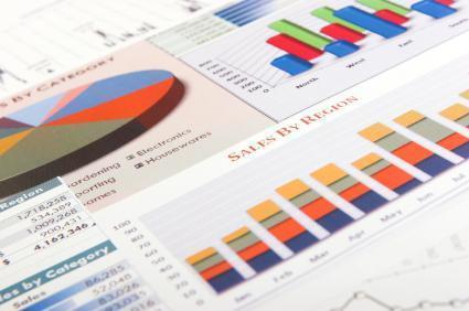 data charts graphs sales