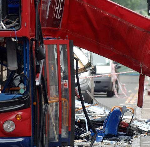 July 7 bus bombing, London