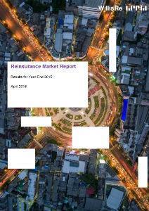 reinsurance market report 450