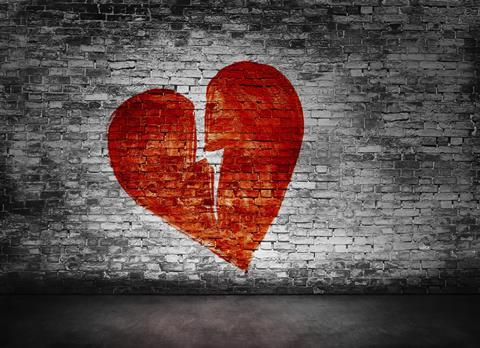 I stock broken heart