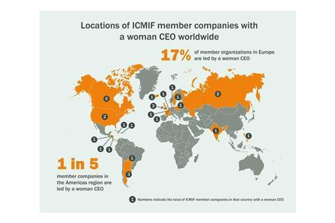 ICMIF women ceo map 900
