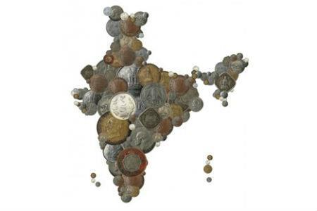 India in coins 450