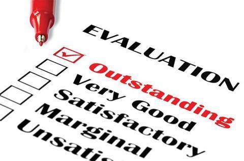 evaluation rating finance